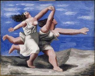 Dos+mujeres+corriendo+sobre+la+playa+Picasso[1]